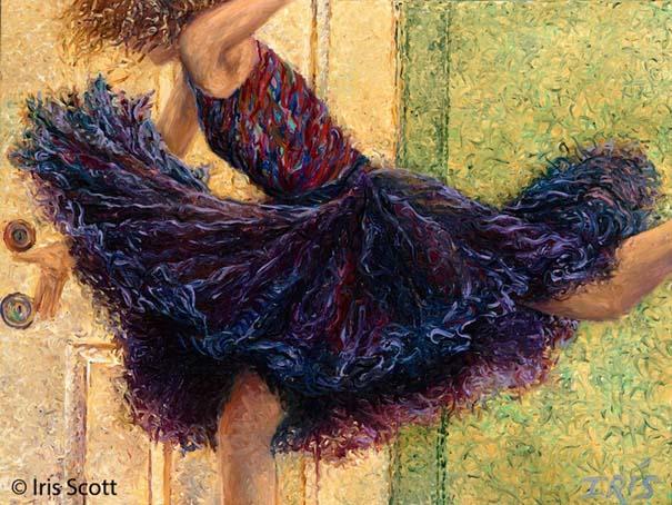 Η Iris Scott παίζει τη ζωγραφική... στα δάχτυλα (10)