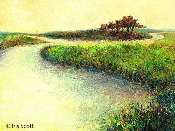 Η Iris Scott παίζει τη ζωγραφική... στα δάχτυλα (13)