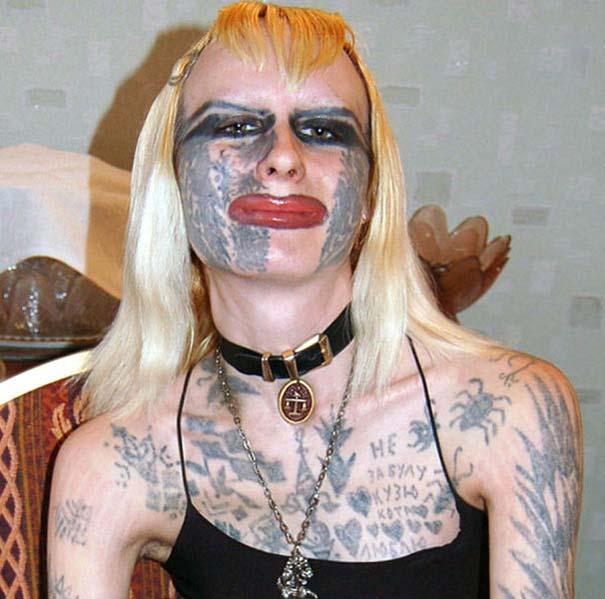 Κοπέλα από τη Ρωσία πέρασε τα τατουάζ σε άλλο επίπεδο (1)