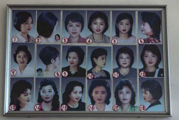 Τα μόνα κουρέματα που εγκρίνει η κυβέρνηση της Βόρειας Κορέας για άνδρες και γυναίκες (2)