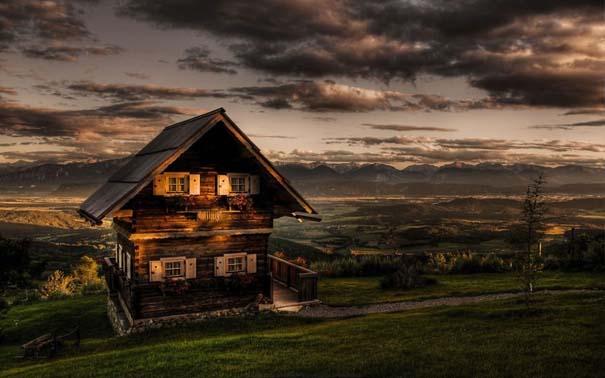 25 παραμυθένια ξύλινα σπίτια στην εξοχή (5)