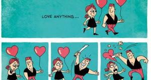 Ένα κόμικ σχετικά με τον έρωτα…