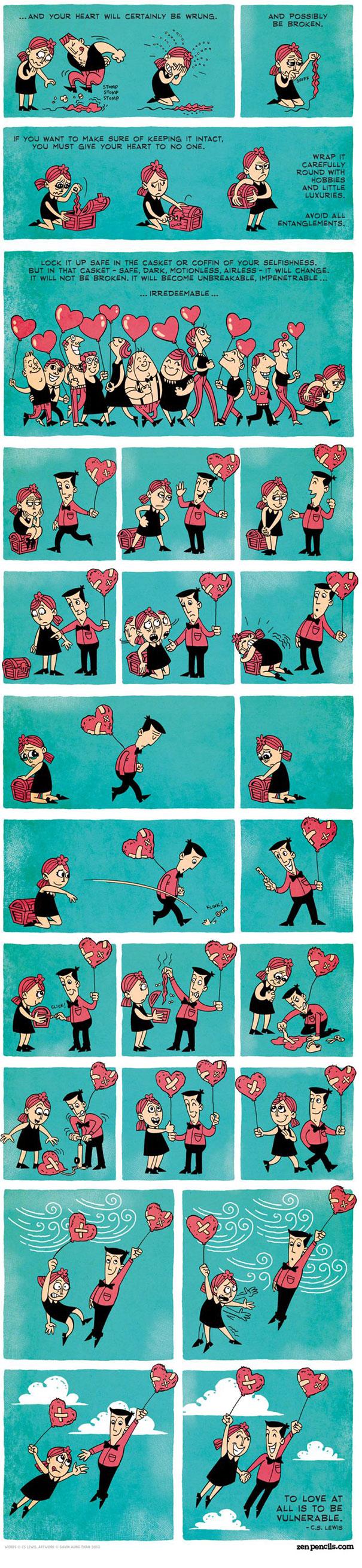 Ένα κόμικ σχετικά με τον έρωτα... (2)