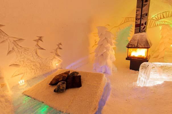 Μαγευτικό ξενοδοχείο από πάγο στον Καναδά (4)