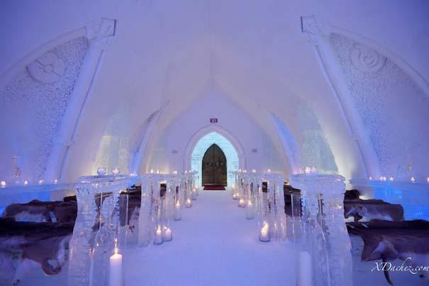 Μαγευτικό ξενοδοχείο από πάγο στον Καναδά (9)