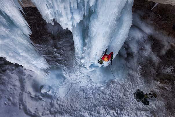 Μαγευτικοί παγωμένοι καταρράκτες απ' όλο τον κόσμο (2)