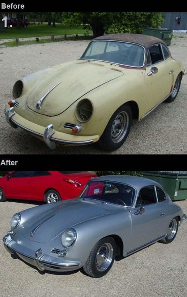 Παλιά αυτοκίνητα που κέρδισαν μια δεύτερη ευκαιρία (1)