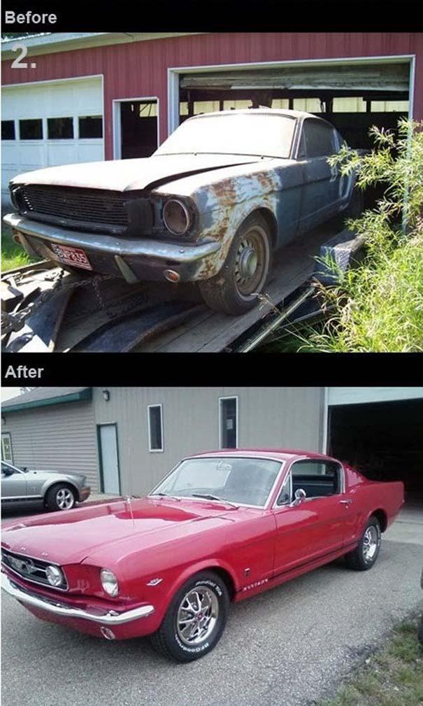 Παλιά αυτοκίνητα που κέρδισαν μια δεύτερη ευκαιρία (2)