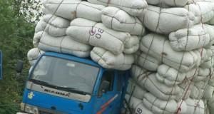 Παραφορτωμένα οχήματα στην Κίνα