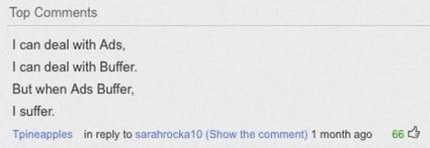Παράξενα & ξεκαρδιστικά σχόλια στο YouTube (1)