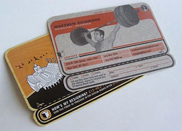 Περίεργες & δημιουργικές επαγγελματικές κάρτες (5)