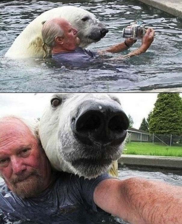 Οι 45 πιο περίεργες φωτογραφίες ανθρώπων που ποζάρουν με ζώα (41)