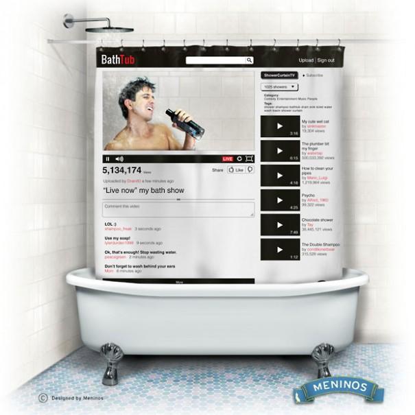 Κουρτίνα για όσους τραγουδούν στο μπάνιο   Φωτογραφία της ημέρας