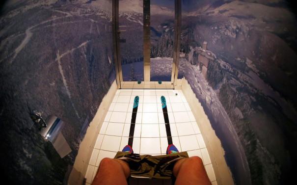 Η τουαλέτα του σκιερ | Φωτογραφία της ημέρας
