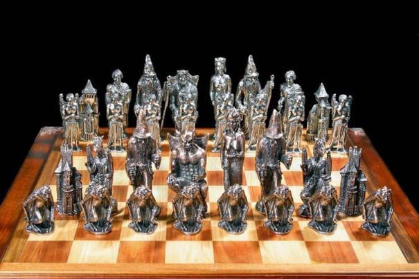 Σκάκι σε παράξενες και ασυνήθιστες μορφές (6)