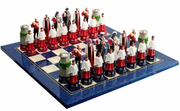 Σκάκι σε παράξενες και ασυνήθιστες μορφές (9)