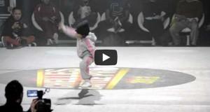 6χρονη μαγεύει σε διαγωνισμό breakdancing (Video)