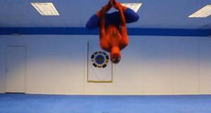 Όταν ο Spider-Man κάνει προπόνηση (Video)