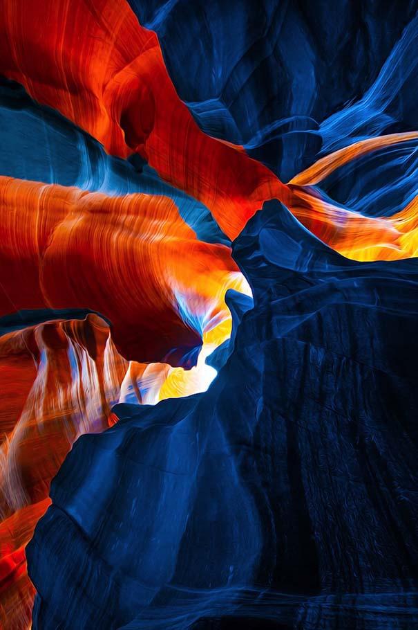 Μοναδικές εικόνες από το Antelope Canyon στην Arizona (2)
