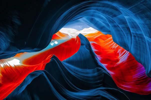 Μοναδικές εικόνες από το Antelope Canyon στην Arizona (3)