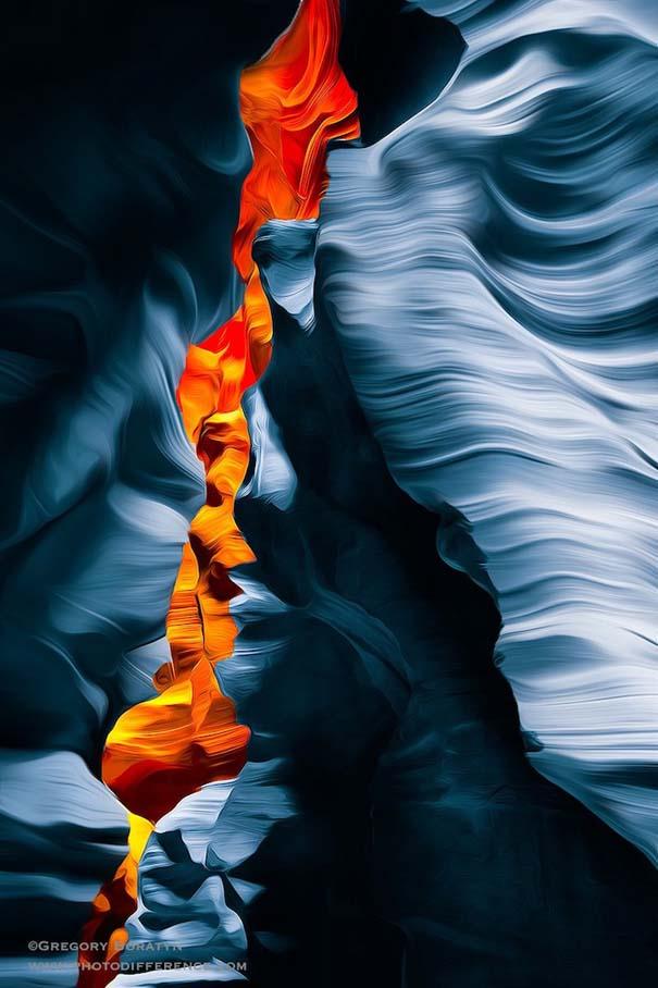 Μοναδικές εικόνες από το Antelope Canyon στην Arizona (8)