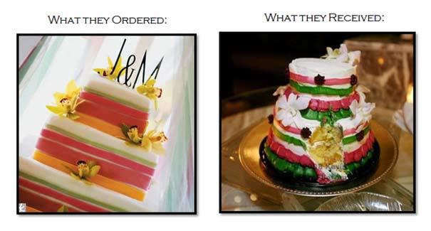 Αποτυχημένες γαμήλιες τούρτες (1)