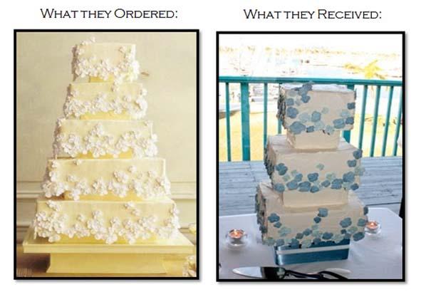 Αποτυχημένες γαμήλιες τούρτες (2)