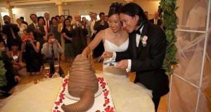 Αποτυχημένες γαμήλιες τούρτες