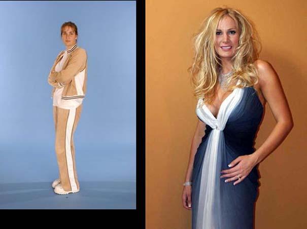 Εντυπωσιακές μεταμορφώσεις γυναικών (1)