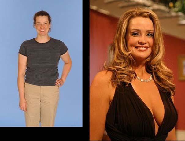 Εντυπωσιακές μεταμορφώσεις γυναικών (4)
