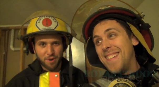 Έστησαν ολόκληρη φάρσα για πυρκαγιά στο σπίτι φίλου τους