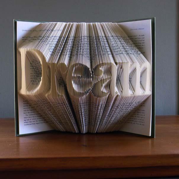Απίστευτα γλυπτά με διπλωμένες σελίδες βιβλίων (2)