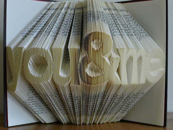 Απίστευτα γλυπτά με διπλωμένες σελίδες βιβλίων (5)