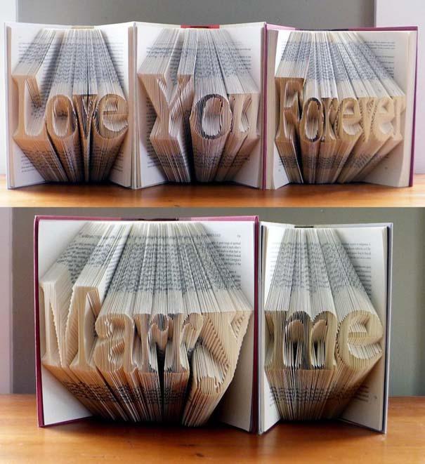 Απίστευτα γλυπτά με διπλωμένες σελίδες βιβλίων (6)