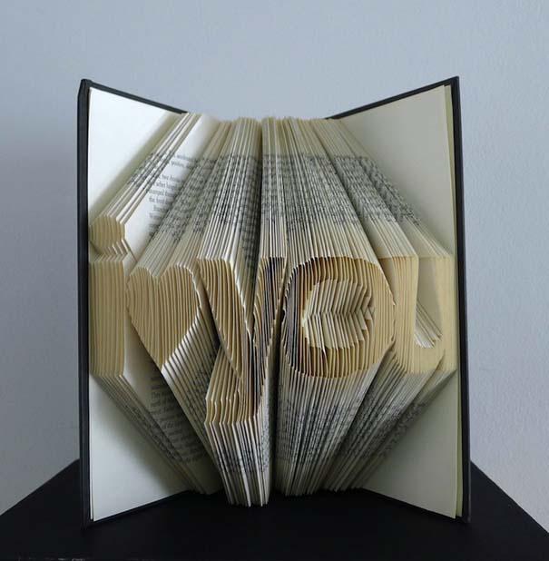 Απίστευτα γλυπτά με διπλωμένες σελίδες βιβλίων (8)
