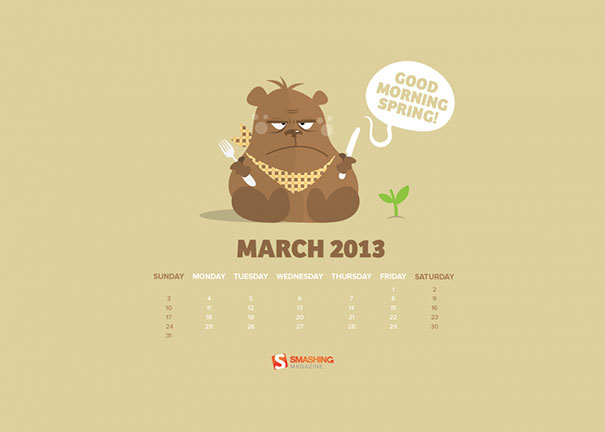 Wallpapers ημερολόγια Μαρτίου 2013 (3)