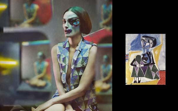 Οι γυναίκες του Πικάσο ζωντανεύουν μέσα από μια εντυπωσιακή φωτογράφιση (2)