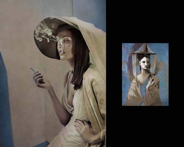 Οι γυναίκες του Πικάσο ζωντανεύουν μέσα από μια εντυπωσιακή φωτογράφιση (5)