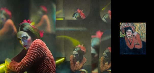 Οι γυναίκες του Πικάσο ζωντανεύουν μέσα από μια εντυπωσιακή φωτογράφιση (8)