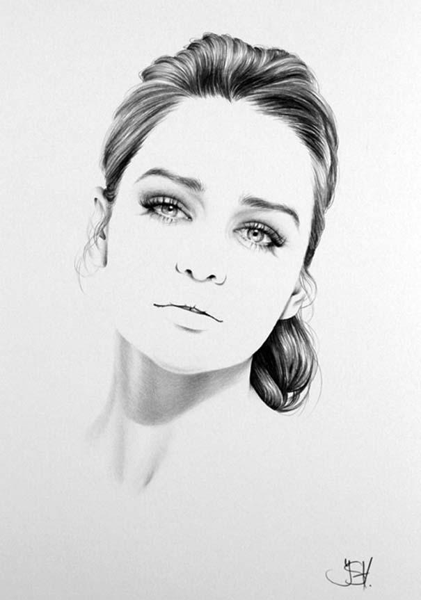 Μινιμαλιστικά πορτραίτα διάσημων γυναικών (2)