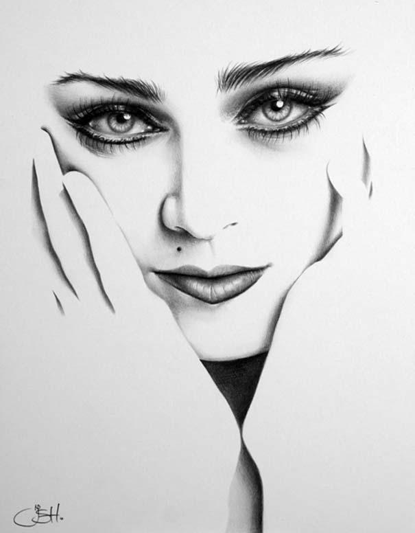 Μινιμαλιστικά πορτραίτα διάσημων γυναικών (3)