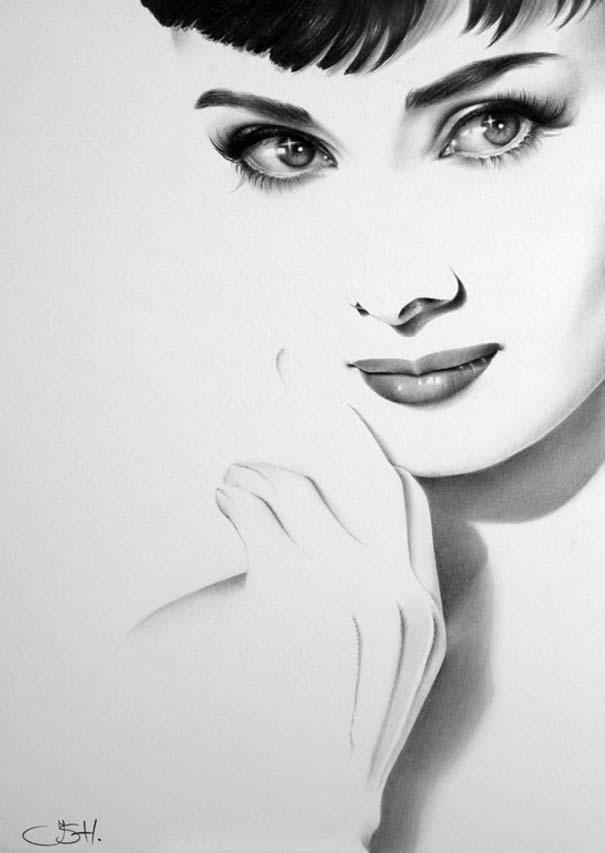 Μινιμαλιστικά πορτραίτα διάσημων γυναικών (4)