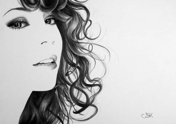 Μινιμαλιστικά πορτραίτα διάσημων γυναικών (10)
