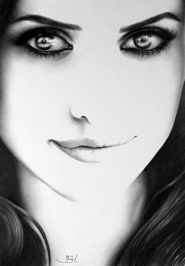 Μινιμαλιστικά πορτραίτα διάσημων γυναικών (12)