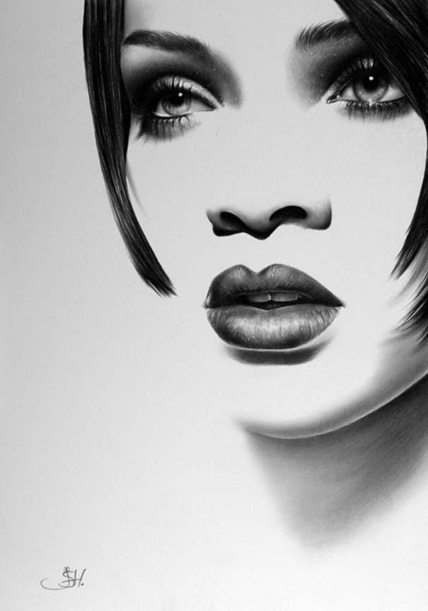 Μινιμαλιστικά πορτραίτα διάσημων γυναικών (13)