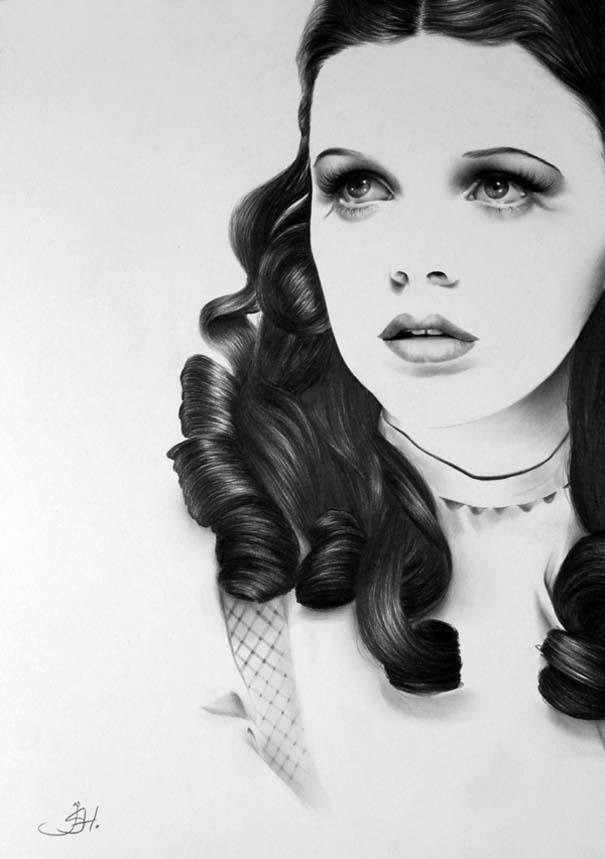 Μινιμαλιστικά πορτραίτα διάσημων γυναικών (14)