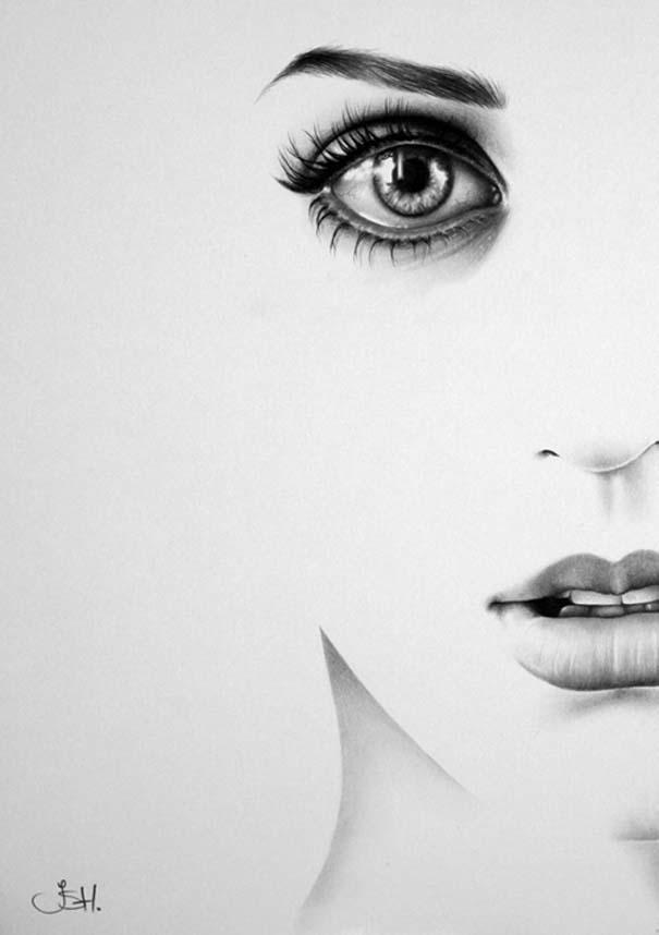 Μινιμαλιστικά πορτραίτα διάσημων γυναικών (17)