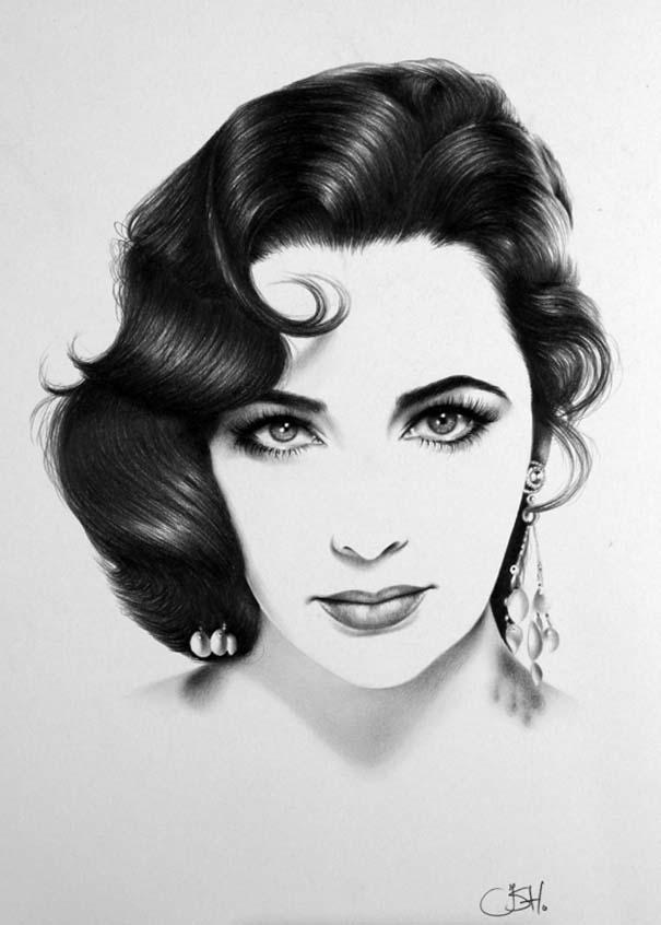 Μινιμαλιστικά πορτραίτα διάσημων γυναικών (19)