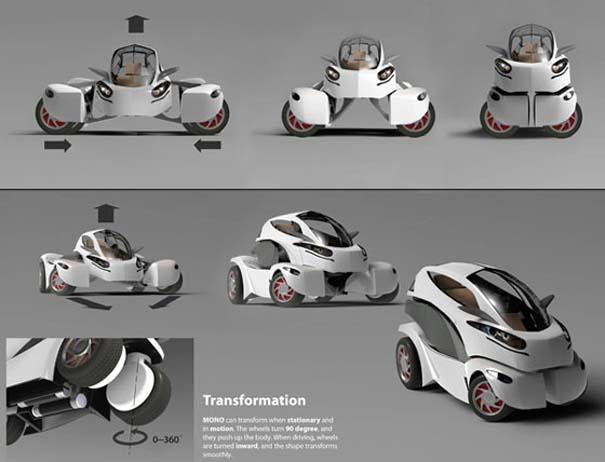 MONO: Το ηλεκτρικό όχημα transformer (3)
