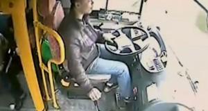 Οδηγός λεωφορείου ξεγελά τον θάνατο με απίστευτα αντανακλαστικά και τύχη (Video)
